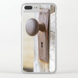 Don't Come Knocking Clear iPhone Case