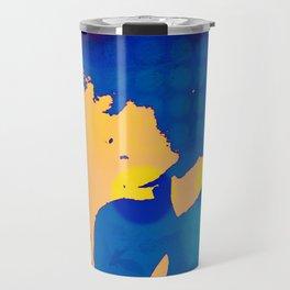 Kenna Blue Travel Mug
