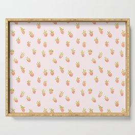 strawberry peach Serving Tray