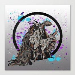The Dark Crystal Skeksis Canvas Print