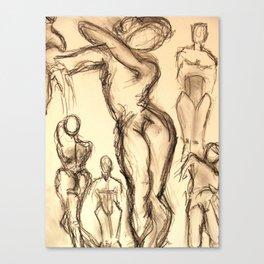 Misty at Dance Canvas Print