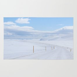 White out Rug