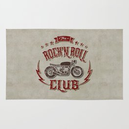 Rock 'n Roll Motorcycle Club Rug