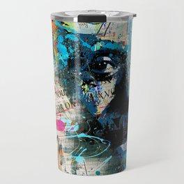 Artistic OI  - Albert Einstein II Travel Mug