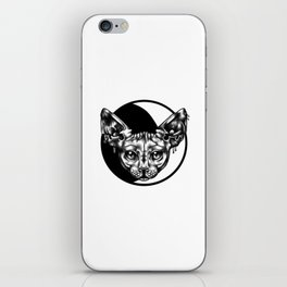 moon sphynx iPhone Skin