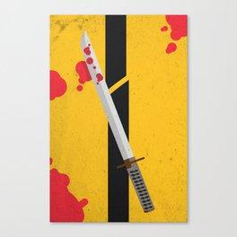 KILL BILL Tribute Canvas Print