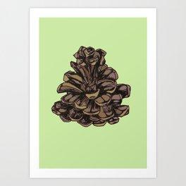 Pining Art Print