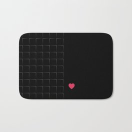 23 E=BlackLove Bath Mat