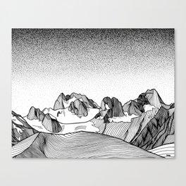 Snowpatch Spire Canvas Print