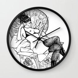 LOVE BUZZ Matriarch Wall Clock