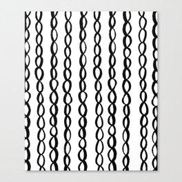 Chain Chain Chain Canvas Print