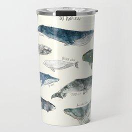 Whales Travel Mug