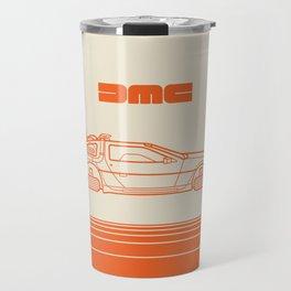 Back To The Future - Delorean - Stroke Travel Mug