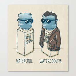 Watercool Canvas Print