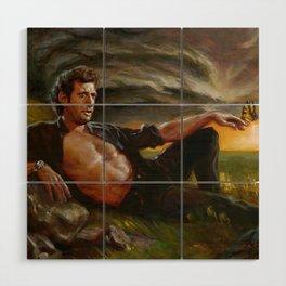 Ian Malcolm: From Chaos Wood Wall Art