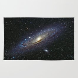 The Andromeda Galaxy Rug