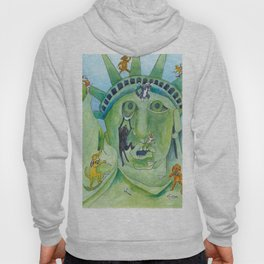 Statue of Liberty Canine Style Hoody