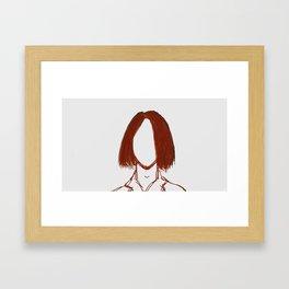 02 Ray Framed Art Print