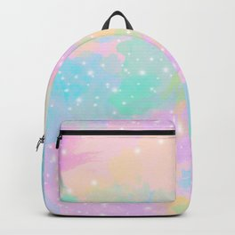 Colorful pastel pattern Backpack