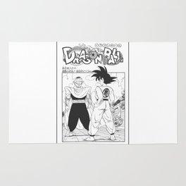 DBZ Manga 4 Rug