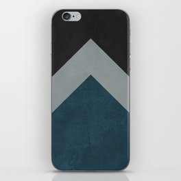Geometric design iPhone Skin