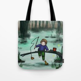 Odd Fishing Tote Bag