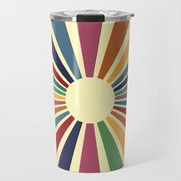 Sun Retro Art II Travel Mug