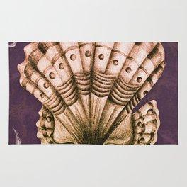 Dystopian Conch - Lavender Rug
