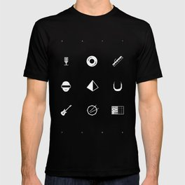 Tribute to Daft Punk, B&W. T-shirt