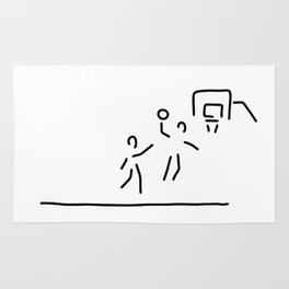 basketball usa basketball player Rug