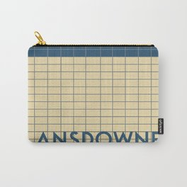 LANSDOWNE | Subway Station Carry-All Pouch