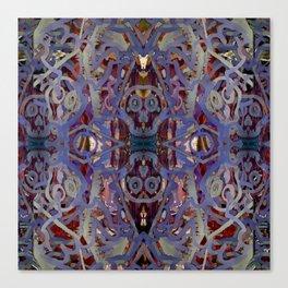 Skulls Purple Rouge Canvas Print