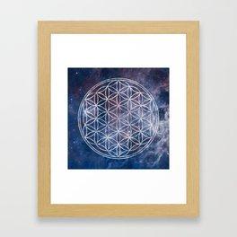 Sacred Geometry Universe 5 Framed Art Print