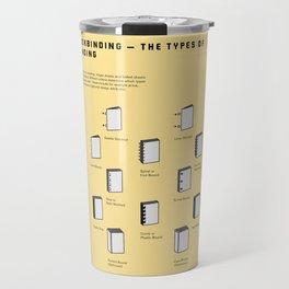 Bookbinding – The Types of Binding Travel Mug