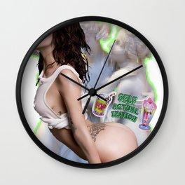 Self Pop Wall Clock