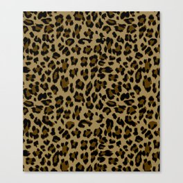 Leopard Print Pattern Canvas Print