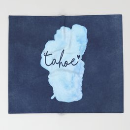 True Blue Throw Blanket