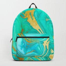 Geode 52 Gold Stone Slab Backpack