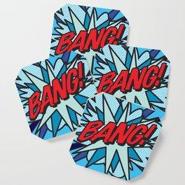 Comic Book Pop Art BANG! Coaster