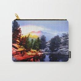 Colorado Flag/Landscape Carry-All Pouch