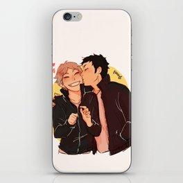 Calm down daisuga iPhone Skin