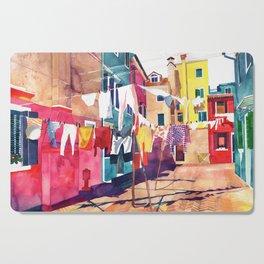 Laundry in Venice Cutting Board