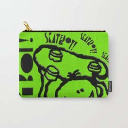 Skate Boy in green Carry-All Pouch