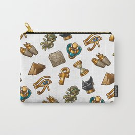 Nefertiti's Quest : Patterns Carry-All Pouch