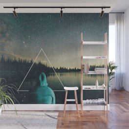 Alone in the Wildnerness Wall Mural