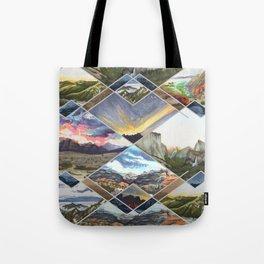 Diamond Mountains Tote Bag