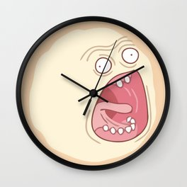 Third Time's The Charm Wall Clock
