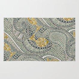 mosaic fish Rug