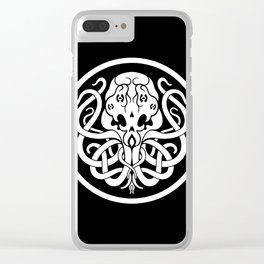Cthulhu Symbol Clear iPhone Case