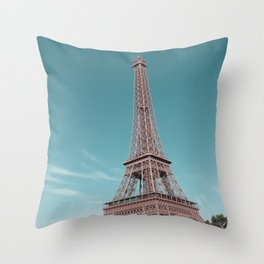 paris, france, eiffel tower Throw Pillow